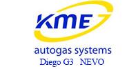 KME - Diego G3, Nevo dujų įranga